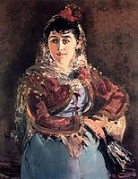 Portrait of Emilie Ambre in role of Carmen, c.1879, manet