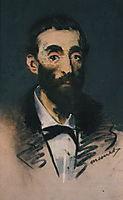 Portrait of Ernest Cabaner, 1880, manet