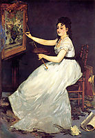 Portrait of Eva Gonzales, 1870, manet
