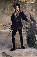 Portrait of Faure as Hamlet, c.1877, manet