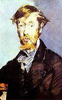 Portrait of George Moore, 1879, manet
