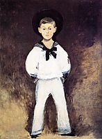 Portrait of Henry Bernstein as a Child, 1881, manet