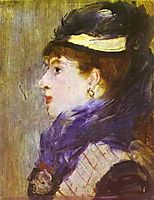 Portrait of a Lady, c.1879, manet