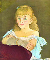 Portrait of Lina Campineanu, 1878, manet
