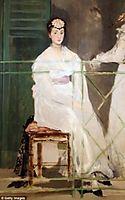Portrait of Mademoiselle Claus, 1868, manet