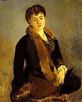 Portrait of Mademoiselle Isabelle Lemonnier, c.1879, manet