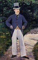 Portrait of Monsieur Brun , 1879, manet