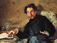 Portrait of Stephane Mallarme, 1876, manet