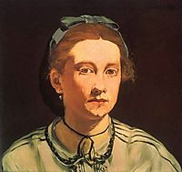 Portrait of Victorine Die, 1862, manet