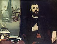 Portrait of Zacharie Astruc, 1866, manet