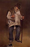 The ragpicker, 1869, manet