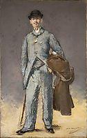 René Maizeroy, 1882, manet