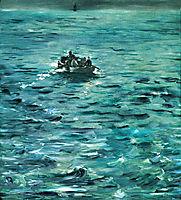 Rochefort-s Escape, c.1881, manet