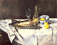 The salmon, c.1868, manet