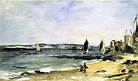 Seascape at Arcachon (Arcachon, beautiful weather), 1871, manet
