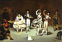 The spanish ballet, 1862, manet