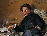 Stephane Mallarme , 1876, manet