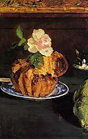 Still Life with Brioche, c.1880, manet