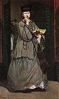 Street Singer, c.1862, manet