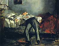 The Suicide, c.1880, manet
