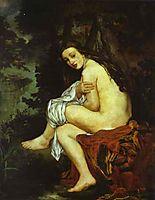 Surprised Nymph, 1861, manet