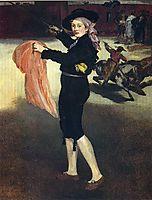 Victorine Meurent in the costume of an Espada, 1862, manet