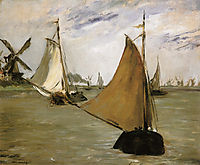 View of Holland, 1872, manet