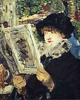 Woman Reading, c.1879, manet