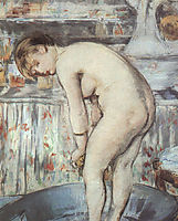 Woman in a tub, c.1878, manet