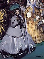Women at the Races, 1865, manet