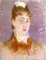 A young girl, 1880, manet