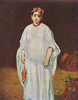 Young Woman in Oriental Garb, manet