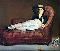 Young Woman Reclining in Spanish Costume, 1863, manet