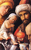The Adoration of the Magi, mantegna