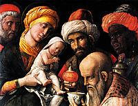 Adoration of the Magi, 1500, mantegna