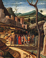 The agony in the garden, mantegna