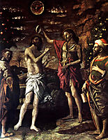 The Baptism of Christ, 1506, mantegna