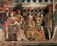 The court of the Gonzaga (detail), mantegna