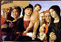 The Holy Family, 1485, mantegna