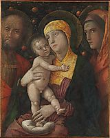 The Holy Family with Saint Mary Magdalen, c.1500, mantegna