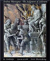 The Judgment of Solomon, mantegna
