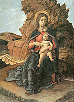 Madonna of the Cave, c.1489, mantegna