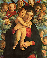 Madonna and Child with Cherubs, mantegna