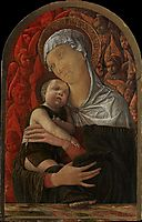 Madonna and Child with Seraphim and Cherubim, c.1460, mantegna