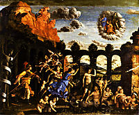 Minerva Chasing the Vices from the Garden of Virtue, 1502, mantegna