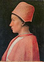 Portrait of Francesco Gonzaga, c.1461, mantegna