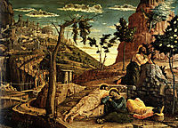 Prayer in the Garden, 1459, mantegna