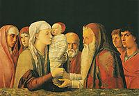 Presentation at the Temple, 1453, mantegna