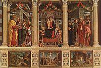 San Zeno Altarpiece, mantegna
