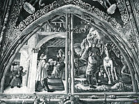 Scenes from the Life of St.Christopher, mantegna